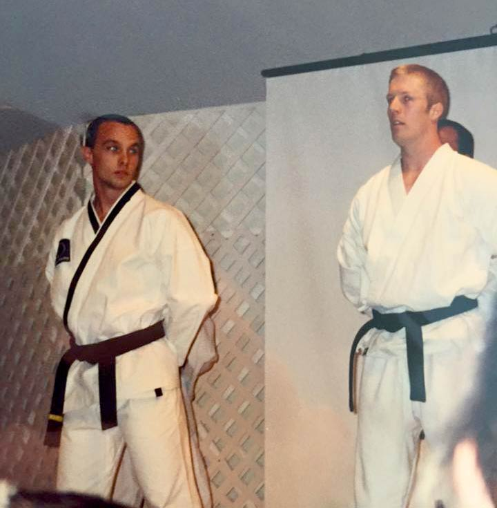Brian Cowell Black Belt, Owner Swiftkick MA