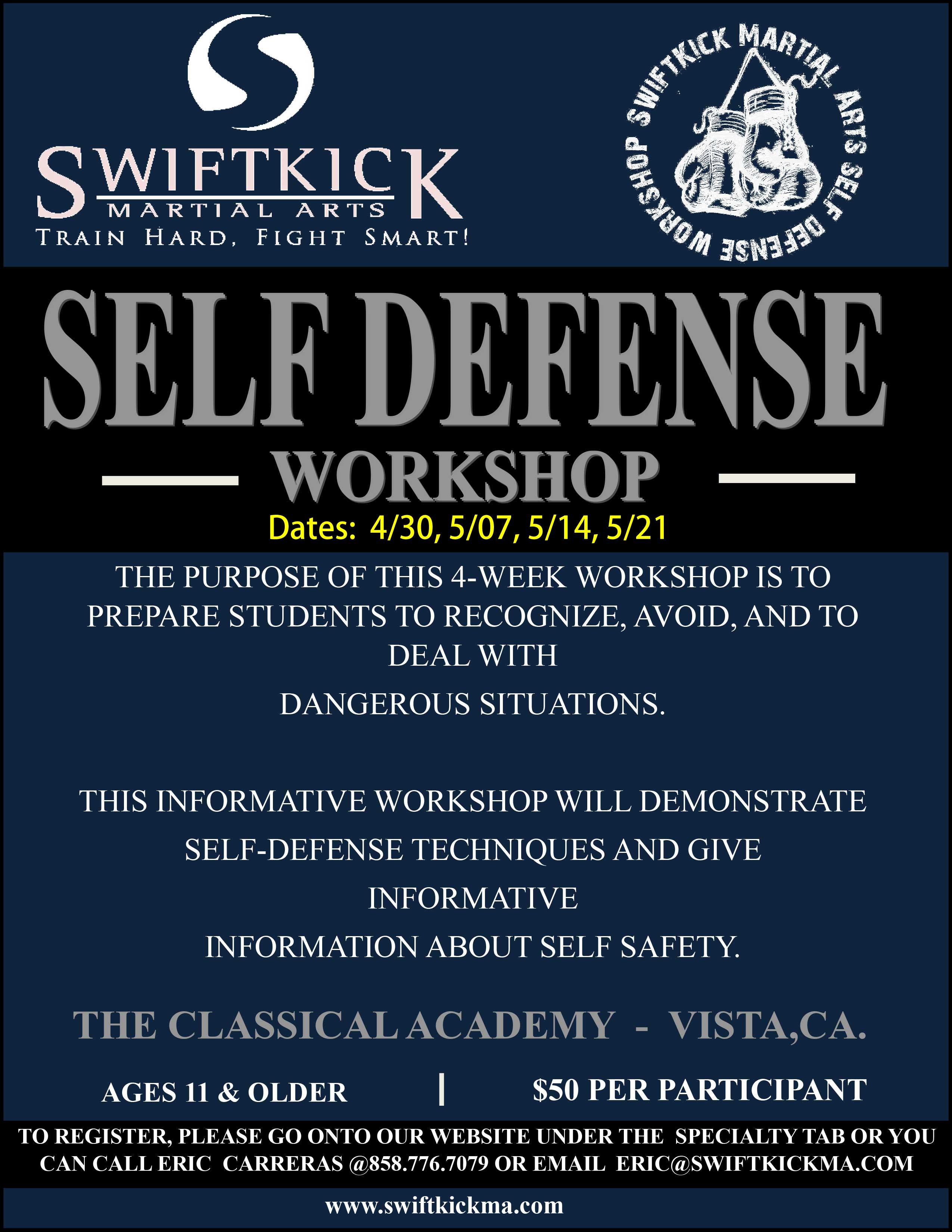 Self Defense Workshop San Diego