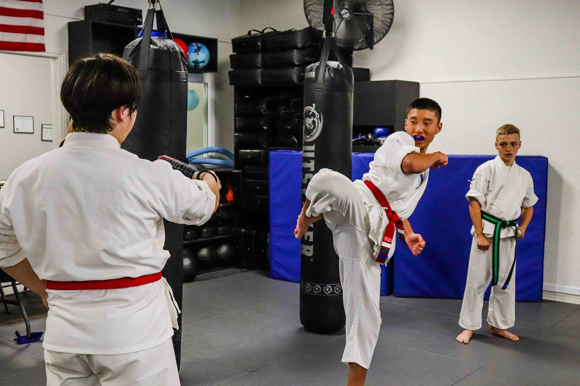building character with martial arts