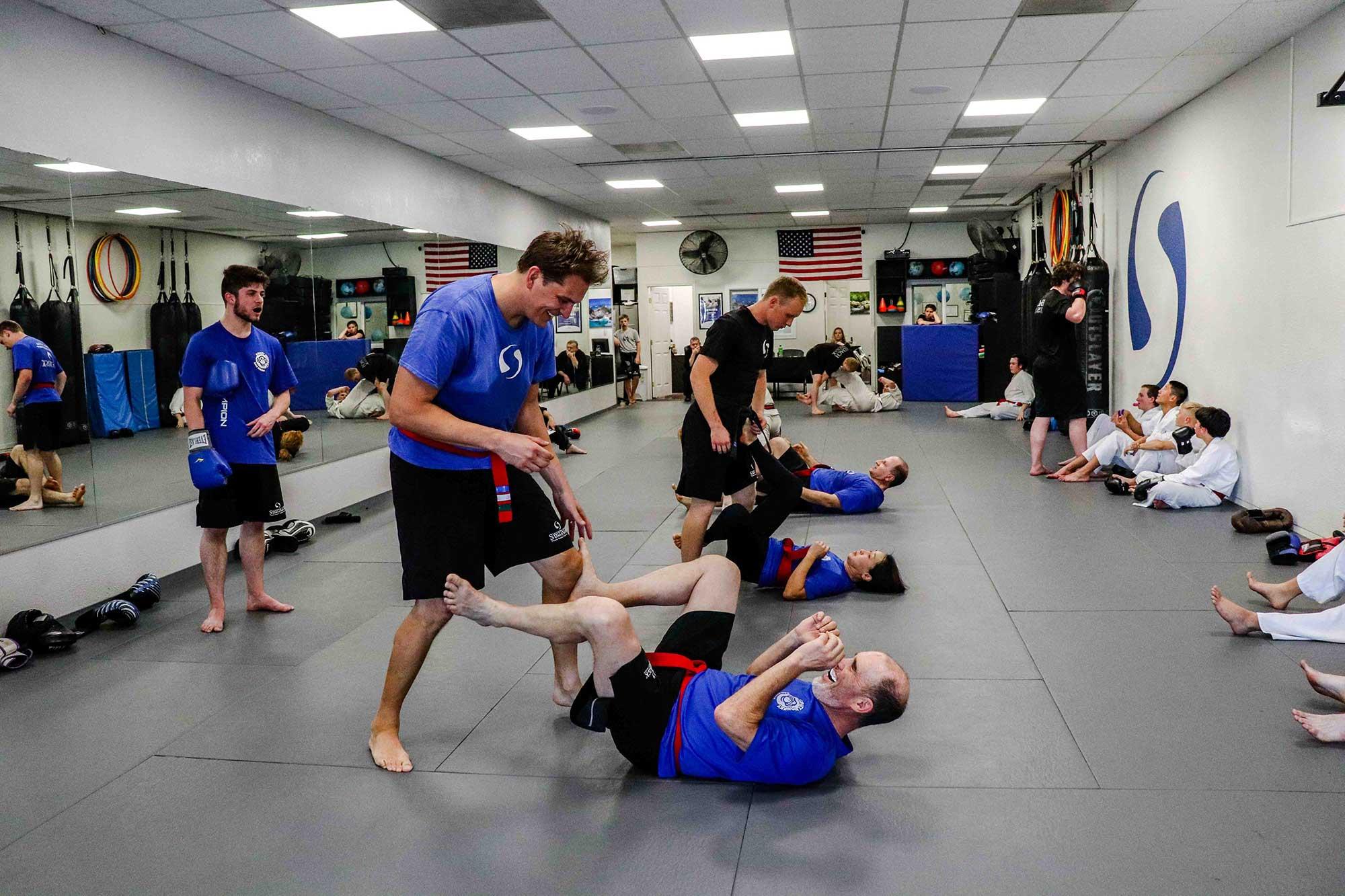 martial arts comeback